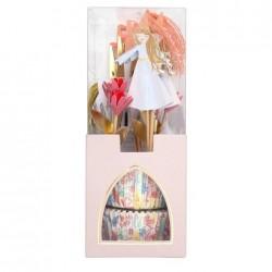 12 Cupcake kit principesse