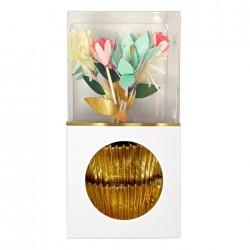 24 Cupcake Kit Fiori