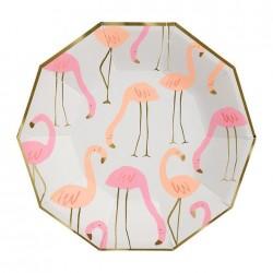 8 Piatti Flamingo