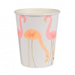 8 Bicchieri Flamingo
