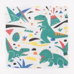 20  Tovaglioli Dinosauro