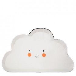8 Piatti Nuvole