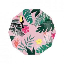 12 Piattini Tropicali