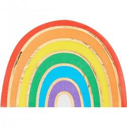 16 Tovaglioli Rainbow